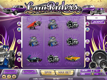 LowRiders slot game review