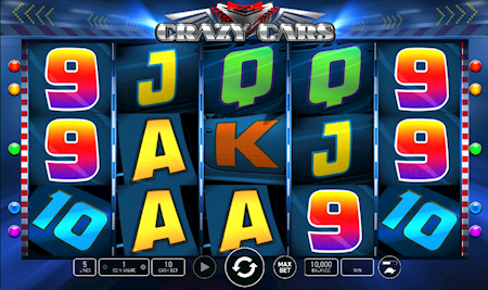 Crazy Cars online slot machine game