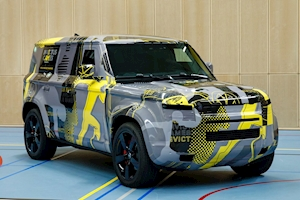 New 2020 Land Rover Defender previewed in Invictus Games livery