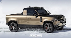 Too Bad Land Rover Dropped Plans For A 2020 Defender Pickup, Isn't It?