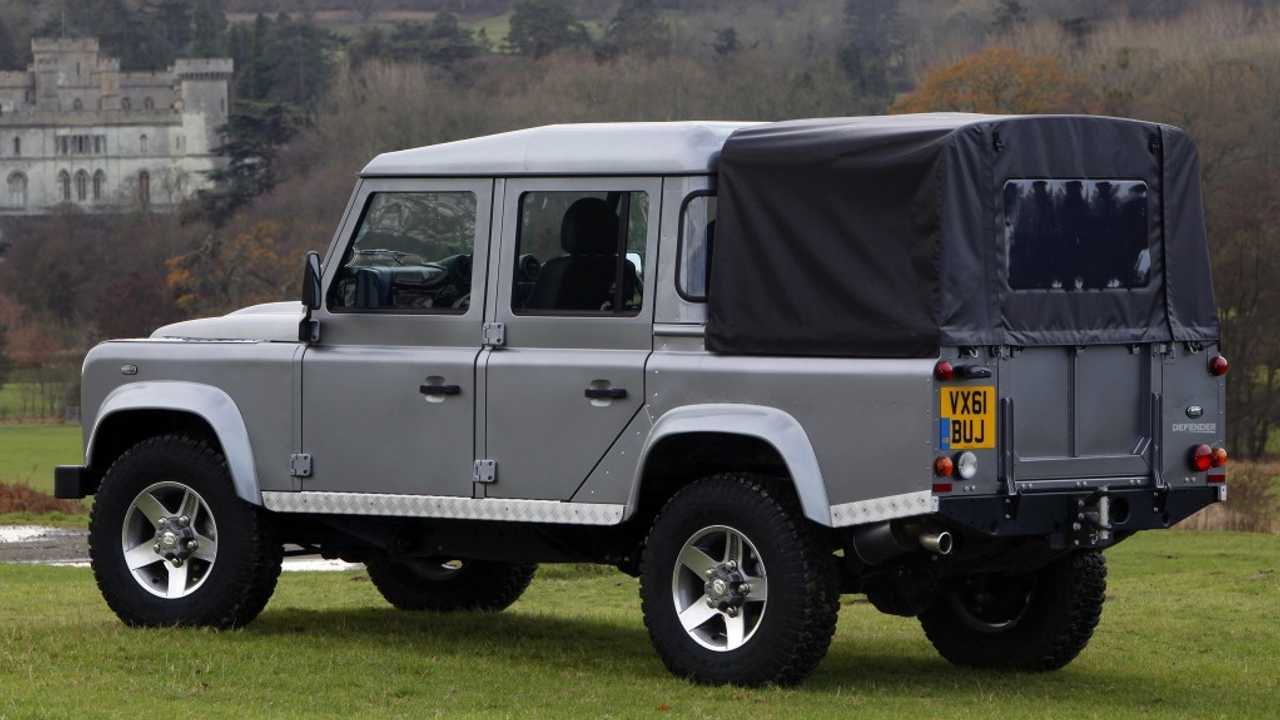 Land Rover Drops Plans For Defender Pickup Truck, Explains Why