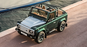 Overfinch Turns Land Rover Defender 90 Into $320k Bespoke Off-Roader