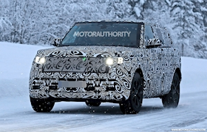 2022 Land Rover Range Rover Long Wheelbase spy shots