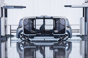 "Jaguar Land Rover reveals electric ""concept platform"" for future urban mobility"