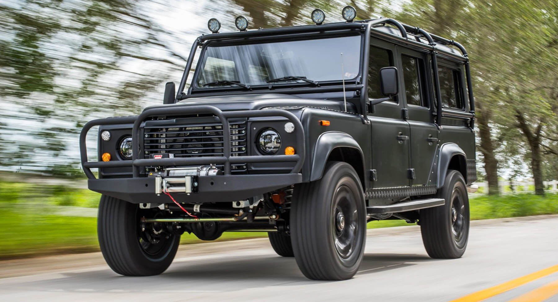 ECD's Project Punisher Is One Badass Custom Land Rover ...