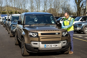 Land Rover Deploys Fleet of New Defenders for COVID-19 Response
