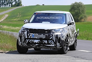 2021 Land Rover Discovery spy shots