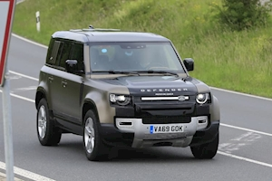 SPY PICS: Flagship Land Rover Defender V8 spotted