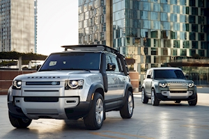 V-8-powered Land Rover Defender in the works