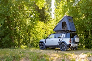 New Land Rover Defender 110 gets roof tent option
