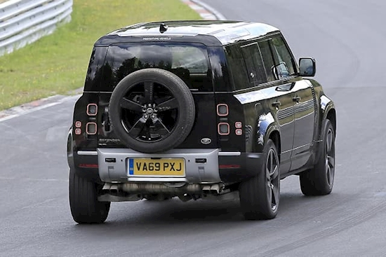 SPY PICS: Land Rover Defender V8 hits the 'Ring