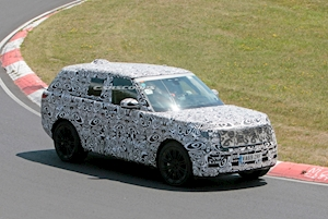 Watch And Listen To The 2022 Range Rover Testing On The Nurburgring