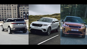 2021 Land Rover Range Rover Velar, Evoque and Discovery Sport updates